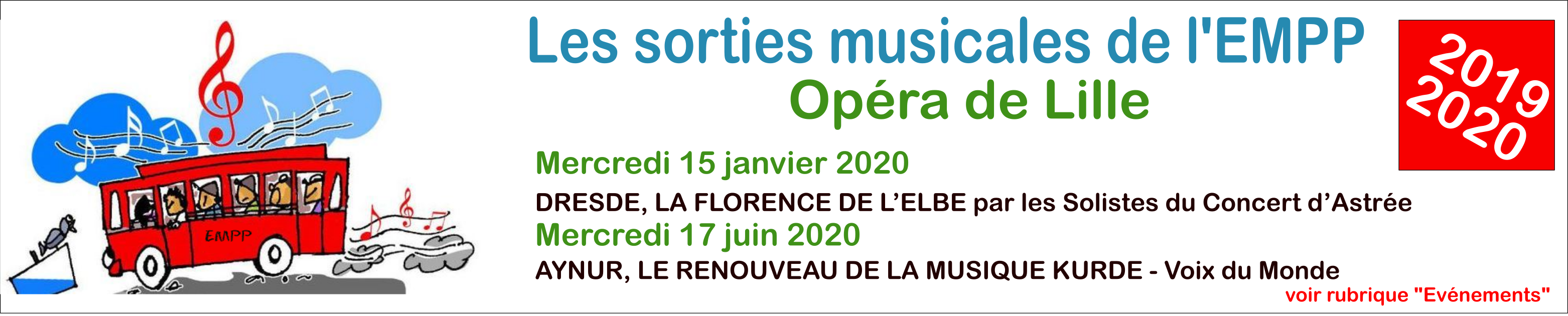 Sorties Opéra Lille
